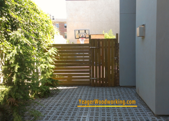custom fence and gate